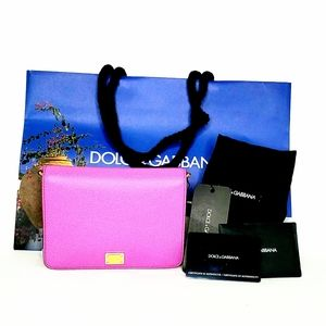 Dolce and Gabbana Mini Glam Dauphine Crossbody